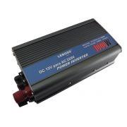 Inversor de tensão p/ auto 12 VDC para 220V AC 1000W - RPC-COMMERCE