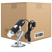 Kit 10 Microscópios Digital Usb Zoom 500x Camera 2.0 MP Profissional - RPC-COMMERCE