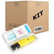 Kit 10 Medidores De Ph Digital - Aquários Água Doce, Salgada, Lagos - RPC-COMMERCE