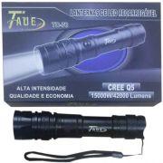 Lanterna Tática Led Recarregável CREE Q5 15000W/42000 Lúmens TD-78 - RPC-COMMERCE