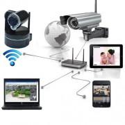 Câmera IP De Segurança Wireless Infravermelho à Prova Chuva - RPC-COMMERCE