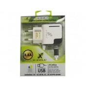 Carregador Ultra Rápido Turbo 2 USB Viagem parede 3.1A - RPC-COMMERCE