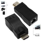Extensor Conversor HDMI 4k Rede Rj45 Projetor Tv Notebook PC - RPC-COMMERCE