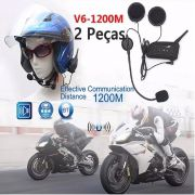 Intercomunicador V6 Comunicador Motocicleta Moto Capacete Bluetooth - RPC-COMMERCE