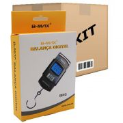 Kit 10 Balança Digital portátil com gancho - Pesa até 50kg - RPC-COMMERCE
