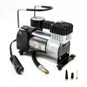 Mini compressor de ar 12v p/ pneu de carro, moto e bicicleta - RPC-COMMERCE