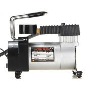Mini compressor de ar 12v p/ pneu de carro, moto e bicicleta