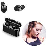 Mini Fones De Ouvido Bluetooth Headset X8 sem fio microfone