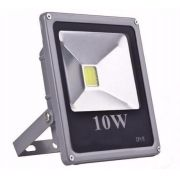 Refletor De Led Holofote Branco Frio 10W IP65 Bivolt