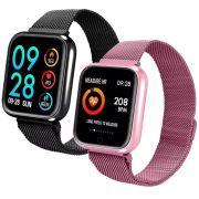 Relógio Smart Watch P70 Batimento Cardíaco C/ Duas Pulseiras - RPC-COMMERCE