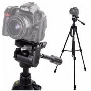 Tripé p/ câmera DSLR smartphone filmadora de alumínio 1.7 m