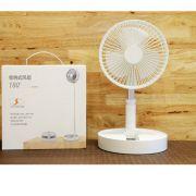 Ventilador Recarregável Silencioso Dobrável Portátil Sem Fio - RPC-COMMERCE