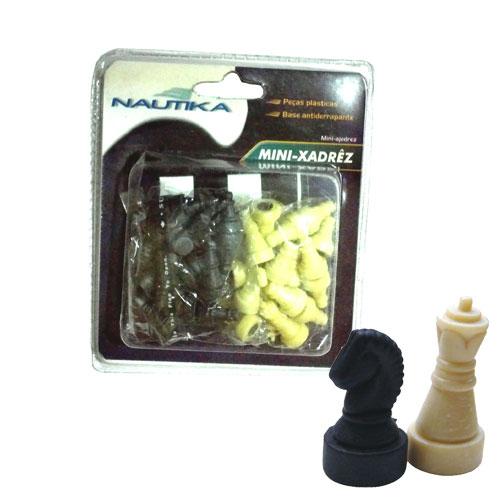Mini xadrez com base magnética  - RPC-COMMERCE