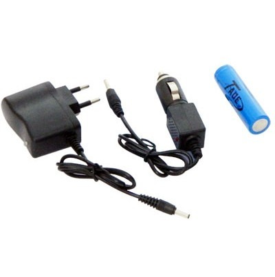 Lanterna Tática de Led Recarregável - 12000W/34000 Lúmens TD-48B - RPC-COMMERCE
