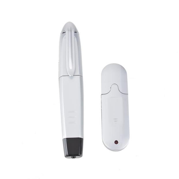 Caneta Apresentador Usb Wireless Com Laser Para Power Point - Prata - RPC-COMMERCE