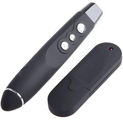 Caneta Apresentador Usb Wireless Com Laser Para Power Point - RPC-COMMERCE