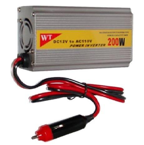 Inversor Conversor Veicular Potência De 200w 12 VDC 220 VAC - RPC-COMMERCE