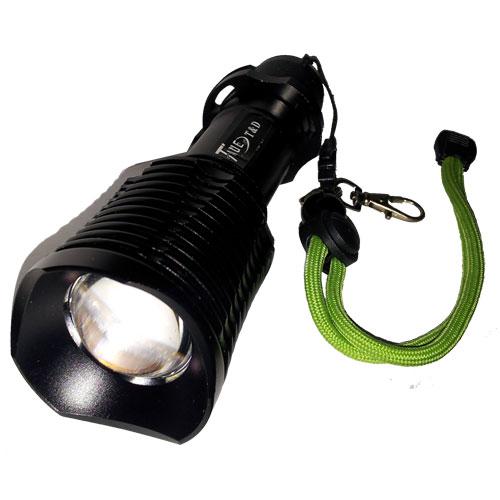 Lanterna Tática de Led Recarregável - 12000W/34000 Lúmens TD-67 - RPC-COMMERCE