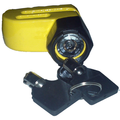 Trava cadeado antifurto para moto freio a disco ventilado - RPC-COMMERCE
