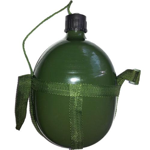 Cantil de Alumínio Militar Tático de 1.8 L Tampa Vedada e alça - RPC-COMMERCE