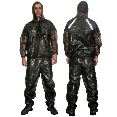 Capa de Chuva Para Motoqueiro (calça + Jaqueta c/ capuz) PVC - G - RPC-COMMERCE
