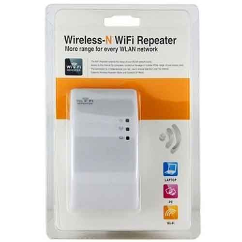 Repetidor expansor e roteador rede wireless wi-fi 300 mbps - RPC-COMMERCE