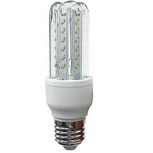 Lâmpada Super Led 5W Econômica Bivolt E27 Branco Quente - RPC-COMMERCE