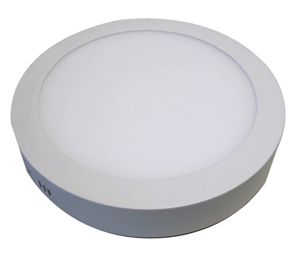 Painel Plafon Redondo Luminária Sobrepor Led 12w Bivolt Branco Quente - RPC-COMMERCE