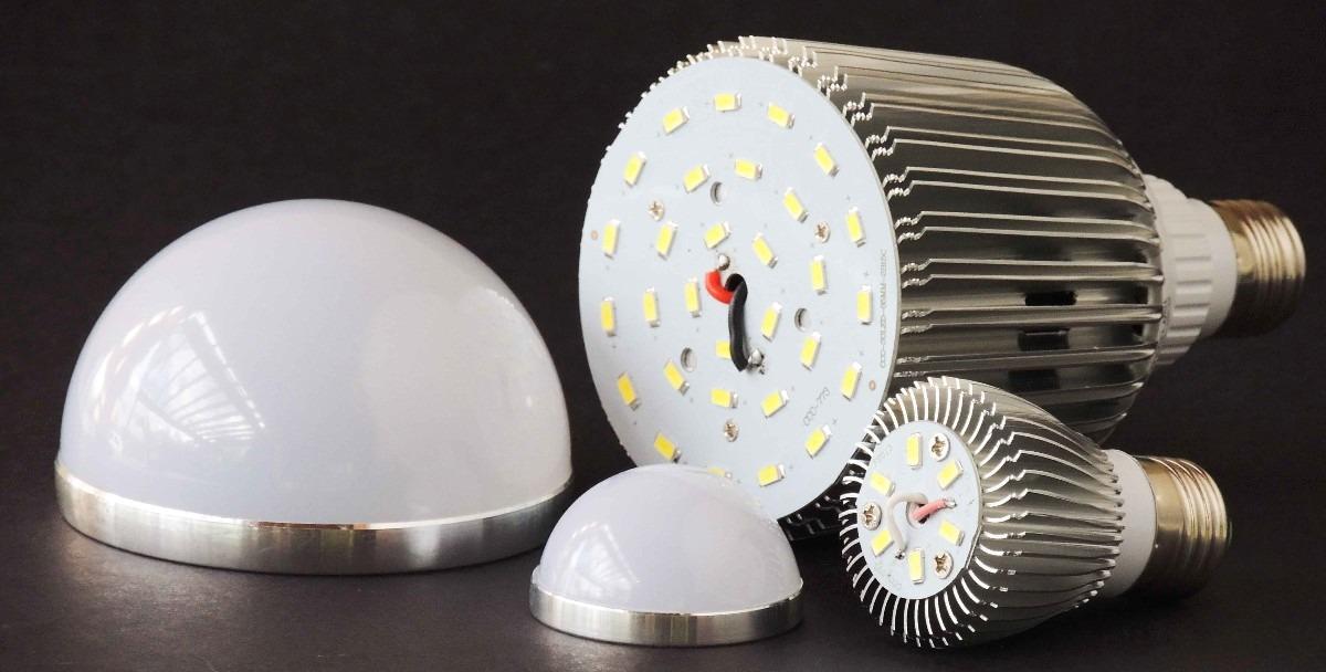Kit 10 Lâmpadas Led bulbo E27 Branco Quente 15W Bivolt - RPC-COMMERCE