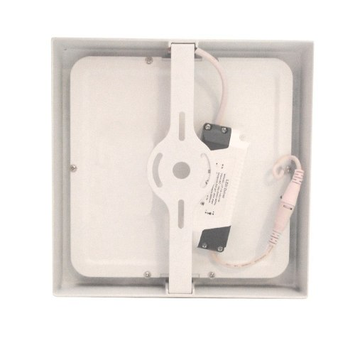Kit 10 Painel Plafon Quadrado Luminária Sobrepor Led 18W Bivolt Branco Frio - RPC-COMMERCE