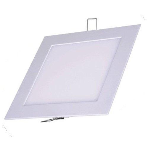Painel Plafon Quadrado Luminária Embutir Led 18w Bivolt Branco Quente - RPC-COMMERCE