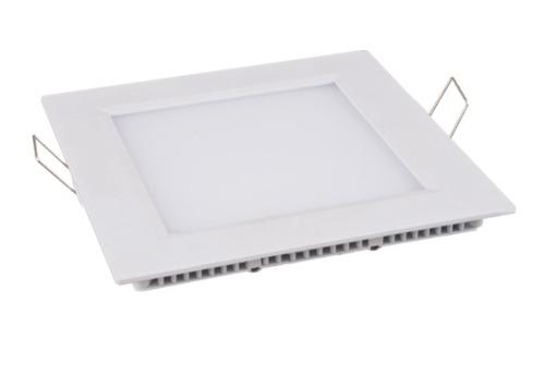 Painel Plafon Quadrado Luminária Embutir Led 24W Bivolt Branco Quente - RPC-COMMERCE