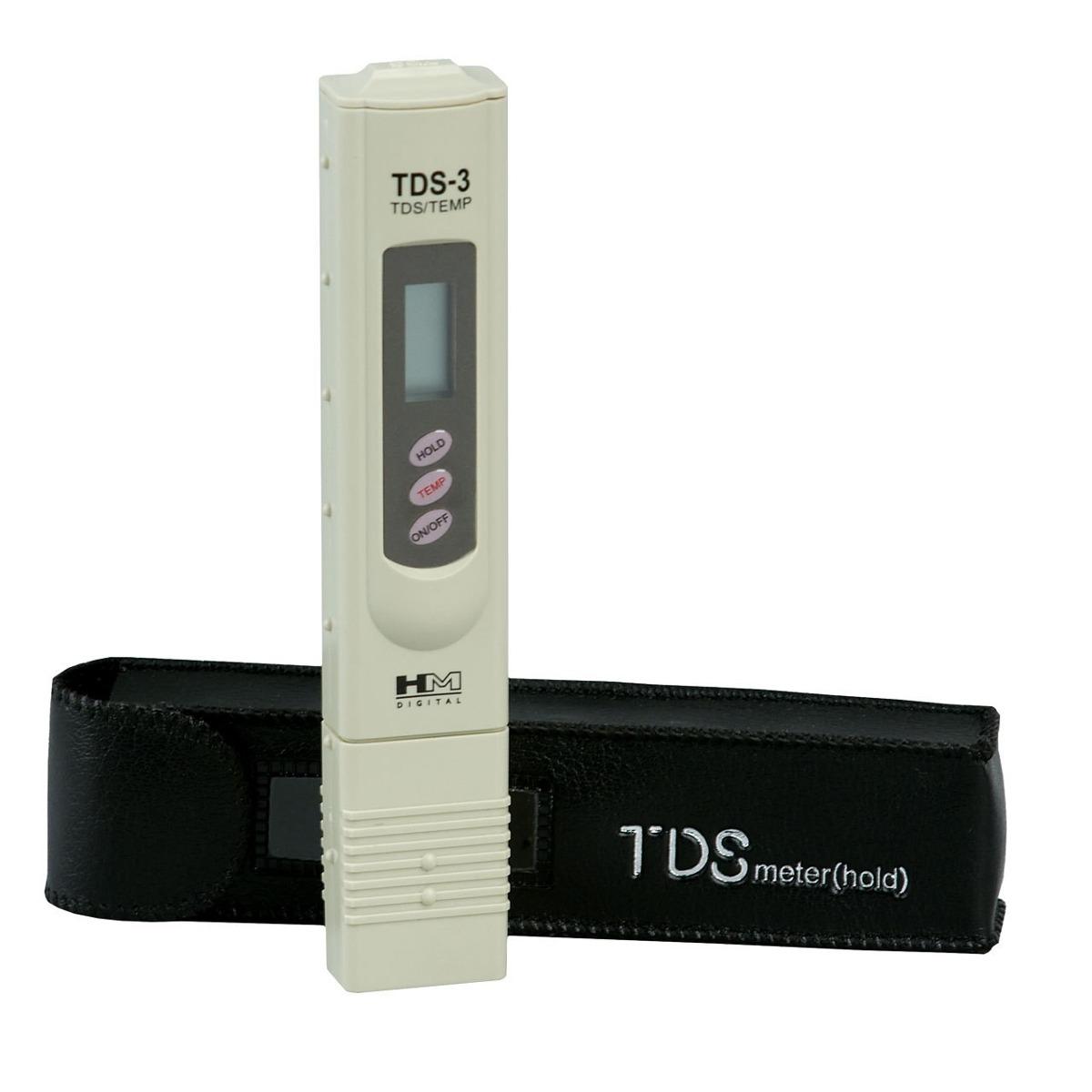 Medidor Condutivímetro Digital TDS Dureza Pureza da Água - RPC-COMMERCE