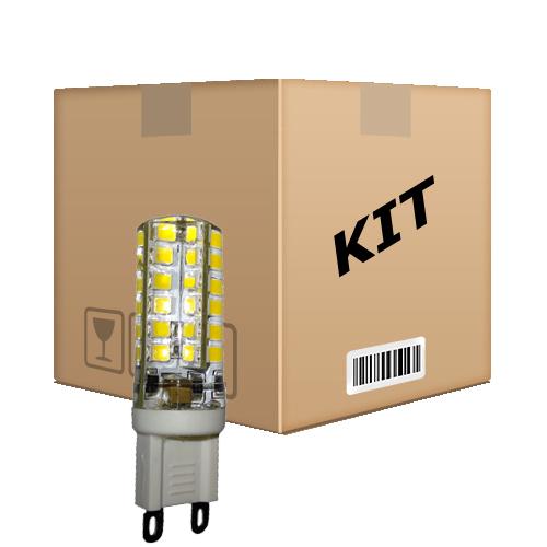 Kit 10 Lâmpadas Led Halopim G9 3W 110v Branco Frio - RPC-COMMERCE