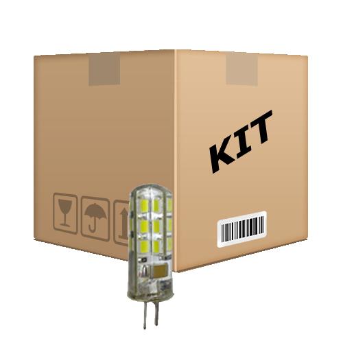 Kit 10 Lâmpadas Led G4 Bipino 2w Branco Quente 110 V - RPC-COMMERCE
