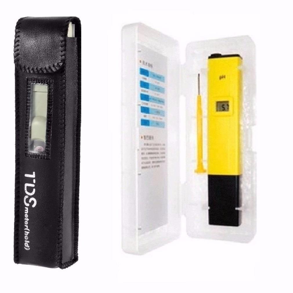 Kit Medidor Digital Tds + Ph P/ Hidroponia Aquario Piscina - RPC-COMMERCE