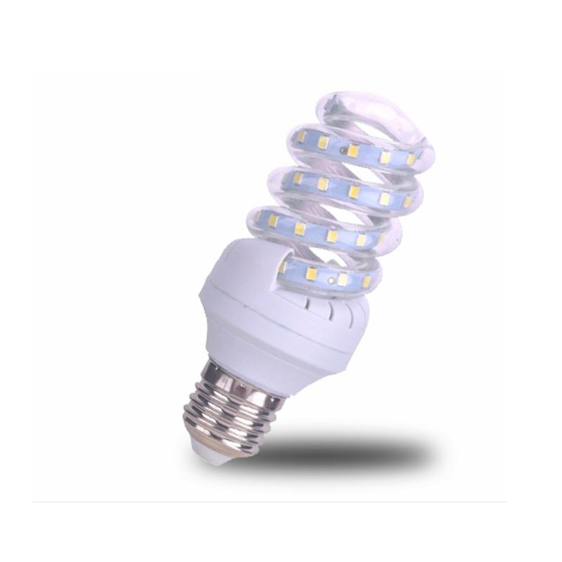 Lâmpada Led Espiral 5w Econômica  E27 Bivolt Branco Quente - RPC-COMMERCE