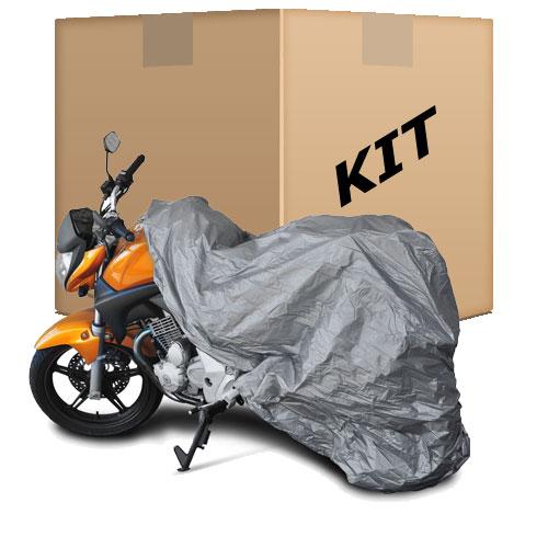 Kit 30 Capas Protetoras p/ Cobrir Moto (100% Impermeável) - M - RPC-COMMERCE