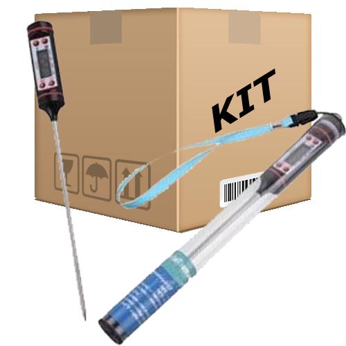 Kit 10 Termômetros Digital para fins alimentícios (-50,0 a 300,0ºC) - RPC-COMMERCE