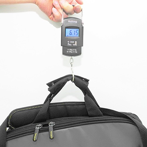 Balança Digital portátil com gancho - Pesa até 50kg - RPC-COMMERCE
