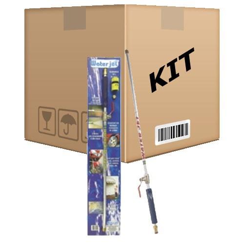 Kit 2 Esguichos Mangueira Jato 2 Bicos Lavadora Pressão 75cm - RPC-COMMERCE
