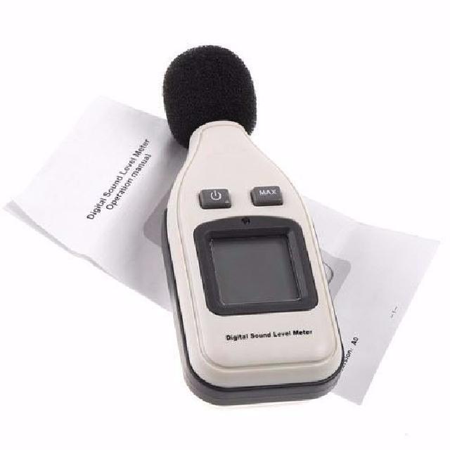 Decibelímetro Digital Medidor Som Ruído 30-130 Decibéis - RPC-COMMERCE