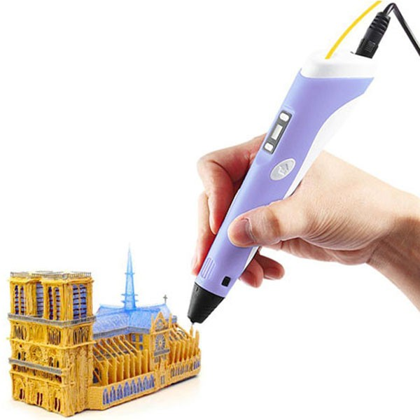 Caneta Impressora 3D Pen Printer Drawing Display LCD Temperatura - RPC-COMMERCE