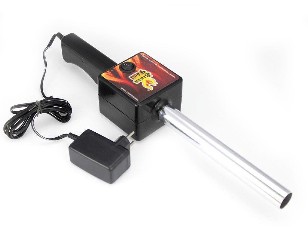 Acendedor elétrico churrasqueira e lareira soprador bivolt - RPC-COMMERCE