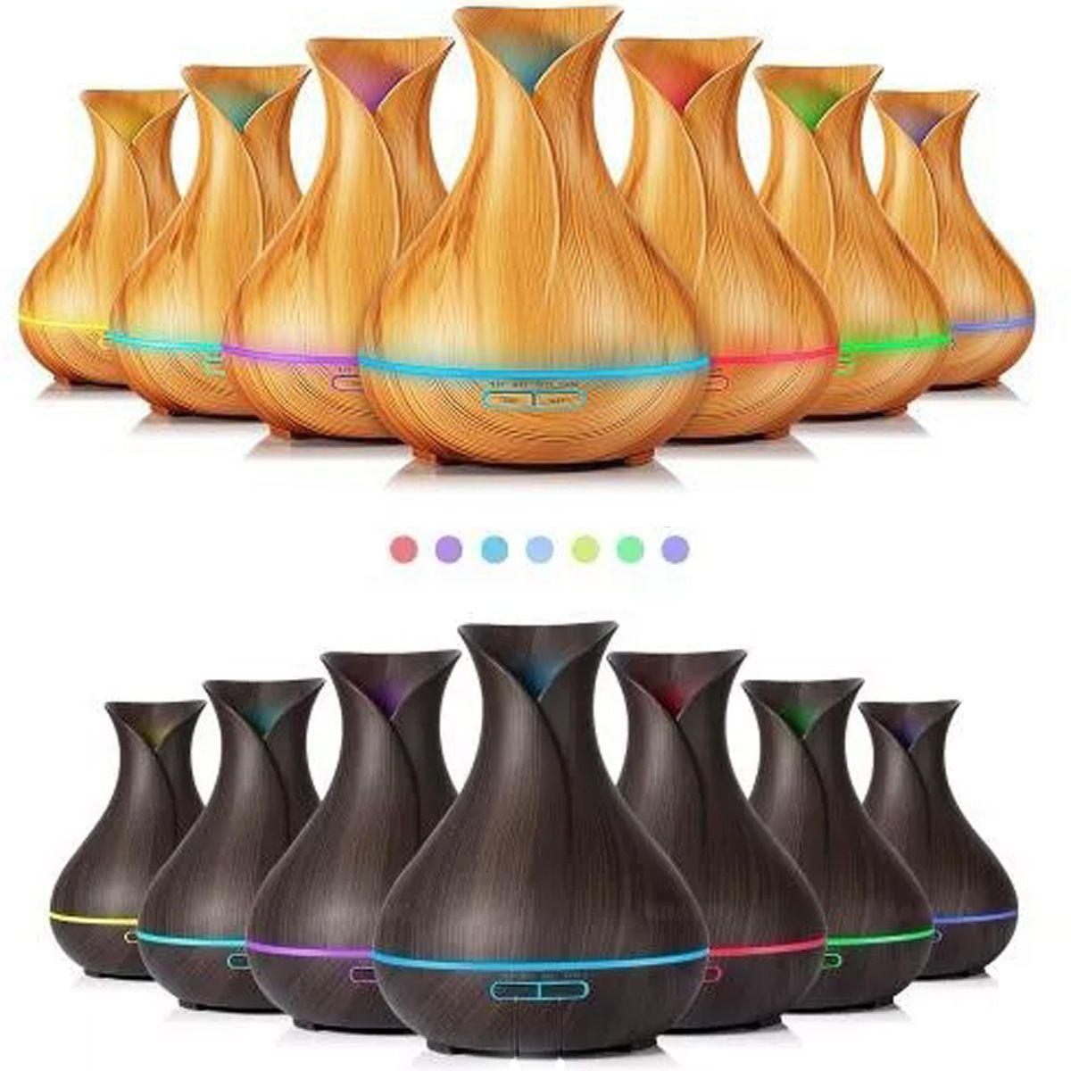 Aromatizador Umidificador Difusor De Aromas Elétrico luminária LED A - RPC-COMMERCE