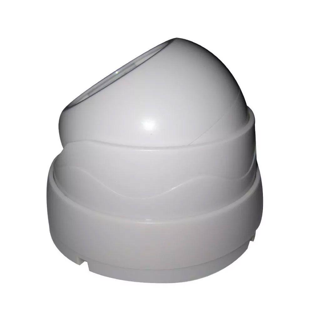 Câmera Dome 24 Leds Ccd 30mts Infravermelho 1000 Linhas 3,6 - RPC-COMMERCE