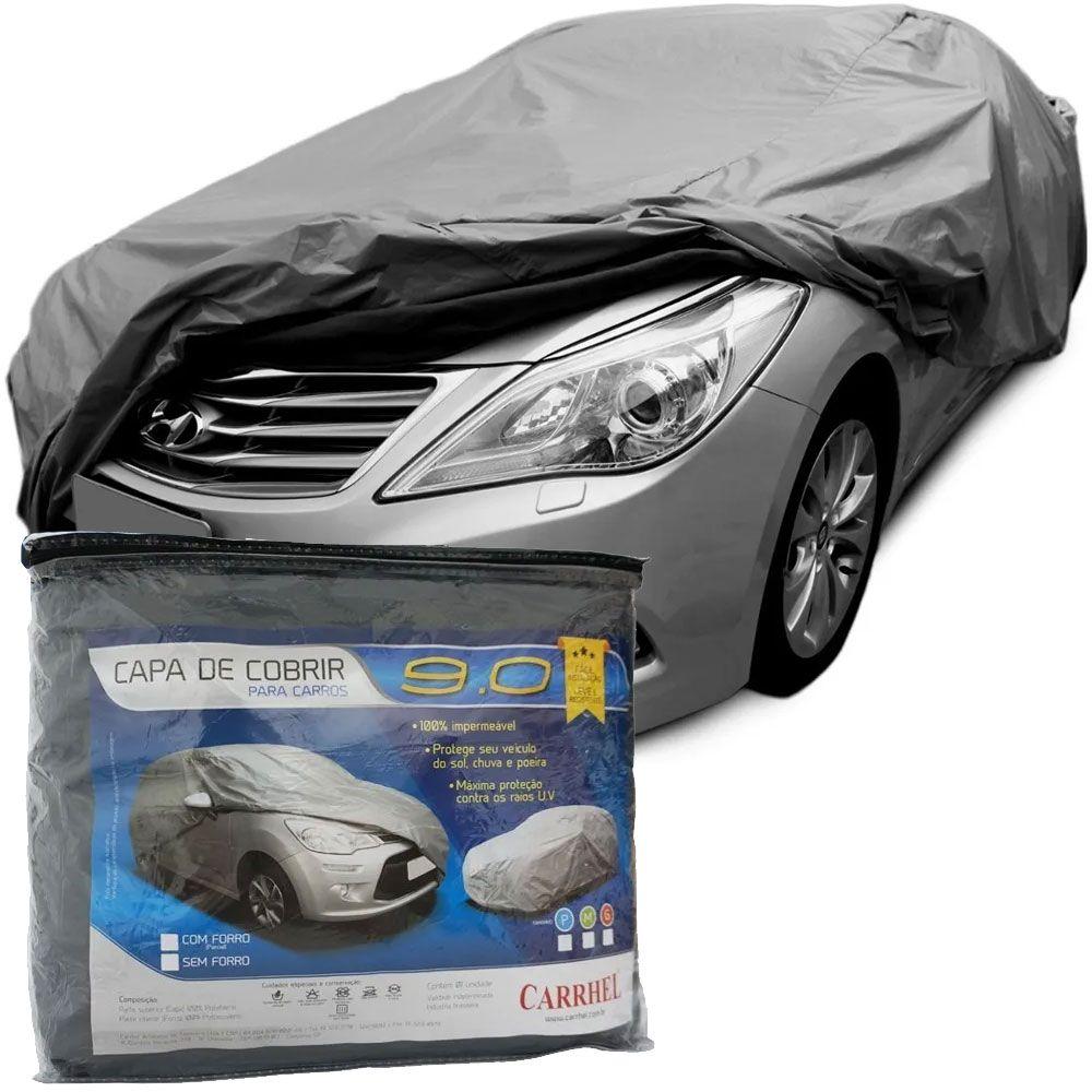 Capa Protetora Para Cobrir Carro (100% Impermeável com forro) - G - RPC-COMMERCE