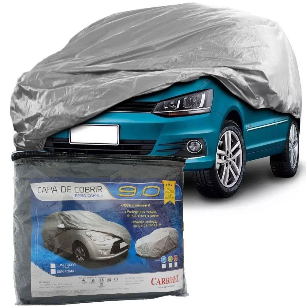 Capa Protetora Para Cobrir Carro (100% Impermeável com forro) - M - RPC-COMMERCE