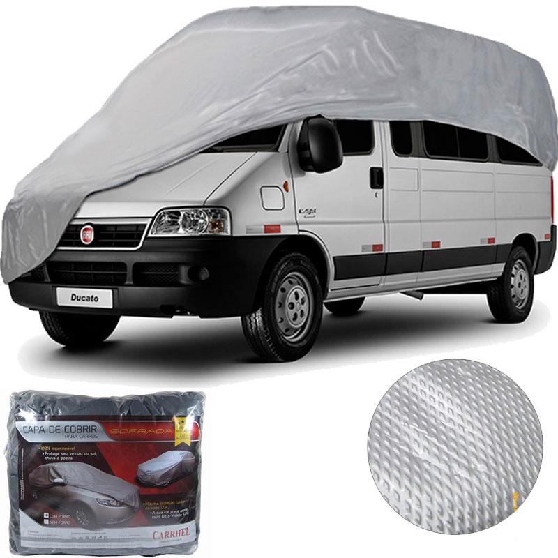 Capa Protetora Para Cobrir Carro (Grofada com forro) - EGG - RPC-COMMERCE