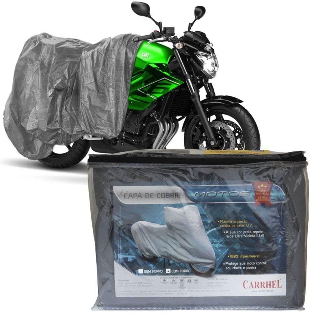 Capa Protetora Para Cobrir Moto (100% Impermeável com forro) - M - RPC-COMMERCE